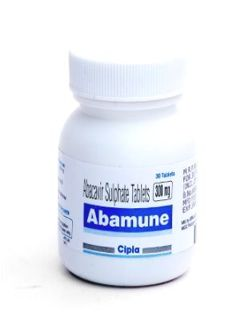 display Abamune 300mg