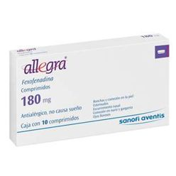 display Allegra 180 mg